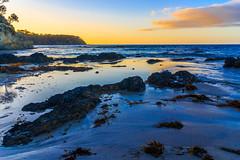 Dawn, Barlings Beach (HellonEarth2006) Tags: barlingsbeach tasmansea australia blue blueskyclouds dawn newsouthwales nsw ocean rocks sea sun sunrise