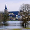 La Sarthe en Crue à Briollay (pom.angers) Tags: panasonicdmctz101 church sarthe briollay angers 49 maineetloire paysdelaloire france europeanunion february 2018 flood river beaugeois angersloiremétropole anjou trees 100 200 300