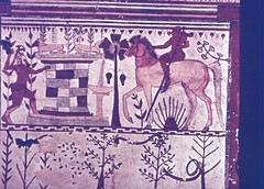 E6-0005 (classicsuwtsd) Tags: etruria etruscan art funerary tomb painting slidecollection