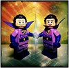 Wonder Twin Power, Activate! (LegoKlyph) Tags: lego custom brick mini figure block wonder twins super friends water animal cartoon comic brother sister justice teen titans dc