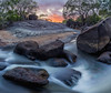 Secret spot (lostin4tune - Thank's for 1.5 million views!) Tags: longexposure landscape water long flow australia sky dawn sunset rocks geology secretspot canon dslr canondslr tripod river stream clouds photo ciel riviere australie rochers endroitsecret fusion hdr panoramic panorama