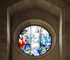 Catedral de Burgos Capilla del Corpus Christi vidriera sobre el altar (Rafael Gomez - http://micamara.es) Tags: catedral de burgos capilla del corpus christi vidriera sobre el altar