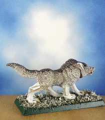 Arctic-Dire-Winter-Wolf-Painted-Miniature-04 (Dead Bard Miniatures) Tags: dd dungeons dragons reaper ralpartha grenadier warhammer wotc chainmail pathfinder painted miniature mini