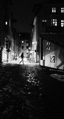 Hunting the shadow (mripp) Tags: art vintage retro old black white mono monochrom street city urban stadt shadow fine sony rx1rii bavaria bayern oberpfalz