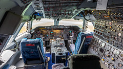 KLM 747 Flightdeck. (spencer_wilmot) Tags: kl klm boeing b747 747 holland netherlands museum flightdeck cockpit jet jetliner jumbo jumbojet quad queenoftheskies office widebody 747200sud phbuk aviodrome classic aviation aircraft airplane airliner airport apron ramp plane passengerjet pwfu civilaviation commercialaviation doubledecker ley ehle leyehle heavy longhaul