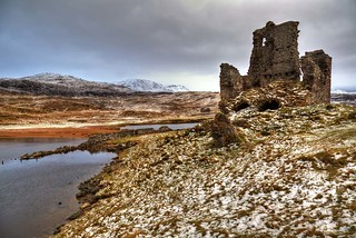 Ardvreck Castle in The Snow