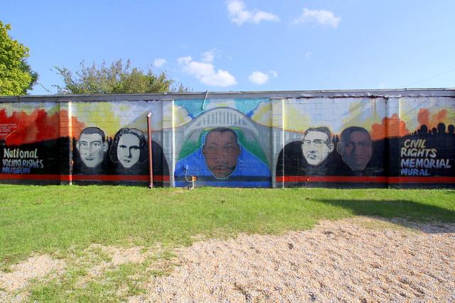 Civil Rights Memorial Mural - Selma, AL