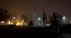 _MG_3259.CR2 (jalexartis) Tags: fayetteville fayettevillenc fayettevillenorthcarolina fog foggy foggymorning downtownfayetteville downtown firstpresbyterianchurch