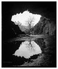 Rydal_Water_Cave-2 (D_M_J) Tags: rydal water cave rock lake district lakedistrict lakeland cumbria north west uk england landscape film camera medium format roll 120 6x7 mamiya rb67 65mm sekor c ilford delta 100 pro kodak hc110 epson v850 vuescan black white bw blackandwhite mono monochrome