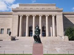 The Thinker (procrast8) Tags: kansas city mo missouri nelson atkins museum art auguste rodin sculpture thinker william rockhill