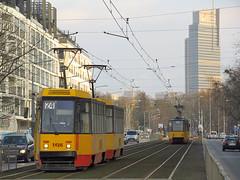 Konstal 105Nf, #1426+1425, Tramwaje Warszawskie (transport131) Tags: tram tramwaj tw ztm warszawa wtp warsaw konstal 105n 105nf