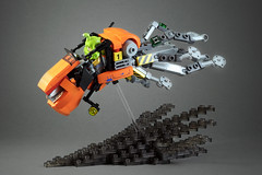 Lightning Octopus (LEGO 7) Tags: lightning octopus lego moc speeder rebel lsb district18 speederbike bike