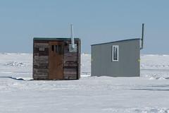 Ice Fishing - Lake Winnipeg (Keith Levit) Tags: interlake icedriving gimli icefishing manitoba mercedesbenzwinterdrivingacademy amg