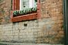 Asia Tu Była (Barnaby Nutt) Tags: grafitti asia was here poland chalk christmas decorations slask film leica