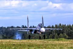 Su-30SM (RealHokum) Tags: airshow aircraft airplane aviation army2017 russianairforce kubinka sukhoi su30sm fighter flanker ef200400