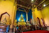 """Wat Benchamabophit (The Marble Temple) Bangkok Thailand-5 (Yasu Torigoe) Tags: watbenchamabophitdusitvanaramwhichmeans""""themonasteryo bangkok krungthepmahanakhon thailand th wat benchamabophit dusitvanaram which means """"the monastery fifth king near dusit palace"""" is buddhist temple district it known marble one bangkoks bestknown temples major tourist attraction typifies ornate style high gables with steppedout roofs elaborate finials construction began 1899 built italian the cloister around assembly hall houses 52 images buddha"""