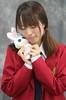 Want You To Know (emotiroi auranaut) Tags: girl woman lady bunny rabbit love happy affection sad happiness sadness friend friends friendship beanieboo eyes sentiment sentimental emotion emotional