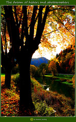 Der Traum der Wanderer und Fotografen/The dream of hikers and photographers/远足者和摄影师的梦想/حلم المتنزهين والمصورين (shaman_healing) Tags: obertrubach herbst autumn farben colors landschaft landscape fränkischeschweiz franconianswitzerland bayern bavaria