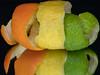 Tripeel (triple) (jeff's pixels) Tags: macromondays citrus macro nikon d850 lemon lime orange peel fruit food reflection triple mirror