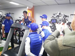 David Huertas triatlón Indoor team clavería triatlón World 7