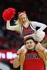cheer (shutterBRI) Tags: ncsu wolfpack nastate university college sport sports cheer cheerleader cheerleaders pack ncaa pncarena raleigh nc carolina carolinas basketball 2018 shutterbri canon bokeh