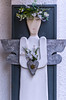 There Must Be An Angel (Playing With My Heart) Eurythmics (Neil B's) Tags: angel angels padstow cornwall art white flowers poesy wings halo