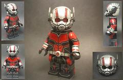 Custom Lego Antman (MCU, Antman and the Wasp) (Brickophilia) Tags: custom lego minfigure mcu marvel antman ant man scott lang wasp