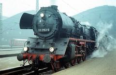 03 2153  Leipzig Hbf  24.02.76 (w. + h. brutzer) Tags: leipzig eisenbahn eisenbahnen train trains dampfloks steam deutschland germany railway lokomotive locomotive zug dr 03 dampflok webru analog nikon
