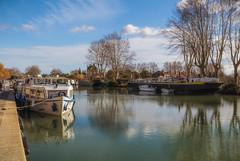 Le quai port neuf (Natha34) Tags: canal du midi bateau béziers