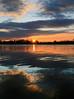 Zero-Km beauty (Robyn Hooz (away)) Tags: padova canali luce nuvole clouds specchio voltabarozzo punte sunset tramonto wideangle grandangolo