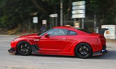 "Nissan, GTR ""Varis - Kamikaze R Supersonic"" , Hong Kong (Daryl Chapman Photography) Tags: t12408 nissan gtr japanese pan panning panningphotography canon 2470mm hongkong china sar varis kamikazersupersonic 5d mkiii"