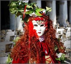 Flora Red (chelis6252) Tags: masken gesichter venedig karneval