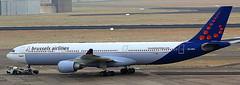 Airbus A-330-301 OO-SFO (707-348C) Tags: brussels zaventem ebbr airliner jetliner airbus airbusa330 a333 oosfo passenger brusselsairlines bel bru
