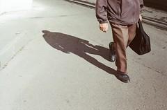 Shadow of USSR (nedoKunst) Tags: film filmphotography kodak200 analog analogphotography russia streetphoto streetphotography street shadow rangefindercamera rangefinder industar 35mm ussr fed5