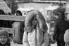 Unknown beautiful girl (il2.chewie) Tags: bnw blackandwhite monochrome canon 70200mm 70200 1d mk mkiii iii outdoor ambientlight winter women beaty girl snow russia russian
