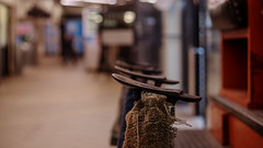 """Shoe Shining Station"" (36D VIEW) Tags: 81h helios legacy mirrorless vintage prime sony a7rii zenit 50mm fullframe manual analogue bokeh bokehlicious beyondbokeh a7rm2"