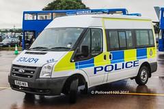 MOD Police Ford Transit EU60 HKV 610 (policest1100) Tags: mod police ford transit eu60 hkv 610 ministry defence