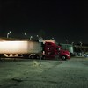 No Stopping (ADMurr) Tags: la eastside bridge truck night light tarmac pavement england rolleiflex 35 kodak ektar zeiss planarcab593 2016