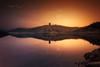 Château de Grangent (Stéphane Sélo Photographies) Tags: châteaudegrangent france paysage pentax pentaxk3ii sigma1020f456 blending couchant coucherdesoleil landscape loire sun sunlight sunset île