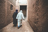 I'll take you somewhere (lu★) Tags: morocco village white stone arabic people