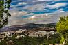 Colegio Sagrada Familia El Monte Malaga (Half A Century Of Photography) Tags: colegio sagrada familia elmonte malaga gibralfaro mountains spain pentaxkr pentax