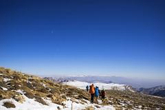 Horizontal View Of Planet Earth ($ALEH) Tags: مشهد خراسان ایران iran mashhad climbing mountain mountaineer moon