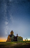Saghmosavank Monastery - Armenia (lucien_photography) Tags: saghmosavan aragatsotnprovince arménie am armenia monastery milkyway sky night dark longexposure saghmosavank yerevan caucaz travel stars blue