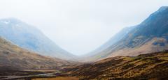 a misty day at River Coupall (Fearghàl Nessbank) Tags: nikon d700 scotland glencoe rivercoupall landscape highlands