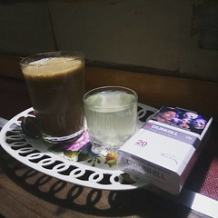 Biar tetap Vit dan Strong Njamu dulu Biar gak gampang sakit  #njamu #jamutraditional #nonalcohol #bahanalami #strong (Shandra Soeliewank) Tags: instagramapp square squareformat iphoneography uploaded:by=instagram lark