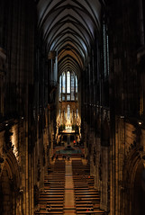 Cathedral in Cologne, Germany (WilliamND4) Tags: cathedral church interior pews nikon d810 germany cologne