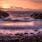 Sunset over the city - Dublin, Ireland - Seascape photography thumbnail