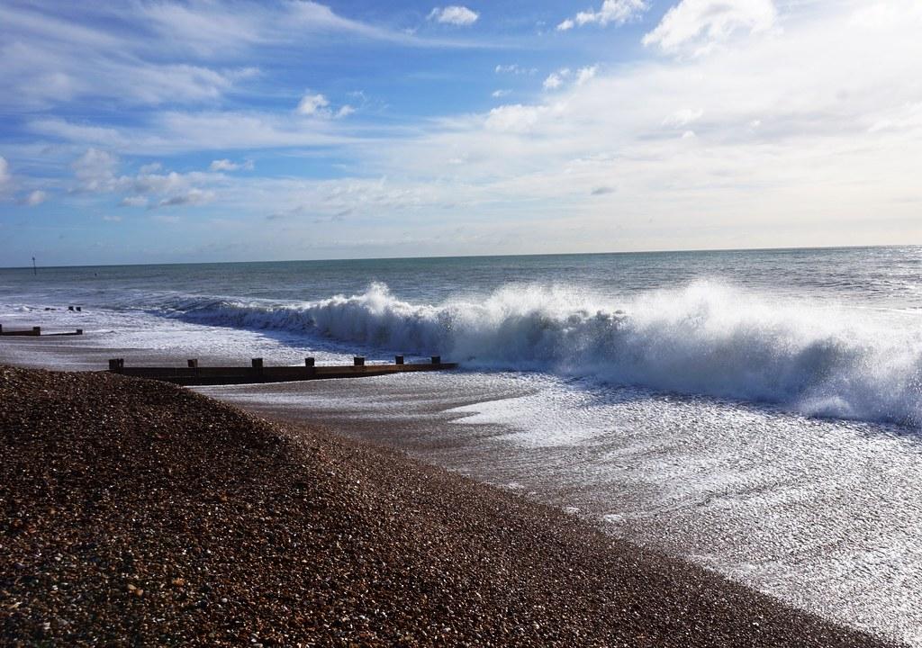 Surf on Felpham Beach 2