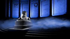 War memorial, Aberdeen-8.jpg (___INFINITY___) Tags: 2018 6d aberdeen bw godoxad360 toourgloriousdead architect architecture art blue building canon canon1740f4 color cowdrayhall darrenwright dazza1040 eos flash granite infinity light lightpainting lion magiclantern night red scotland sculpture statue stone strobist uk warmemorial wideangle