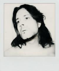 Self-portrait (Josu Sein) Tags: selfportrait autorretrato polaroid expressionism expresionismo cinematic cinemático mystery misterio monochrome monocromo josusein analog analógico